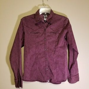 The North Face button down blouse