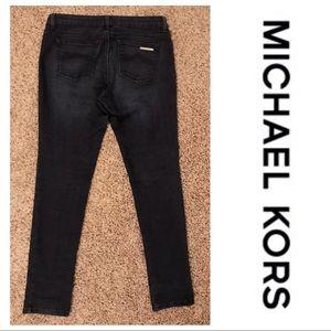 Michael Kors Dark Wash Skinny Jeans Size 10