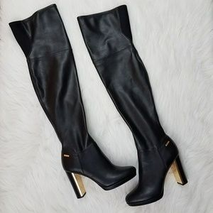 3f52ae0ee00 Calvin Klein Shoes - Calvin Klein Polomia Thigh High Boot