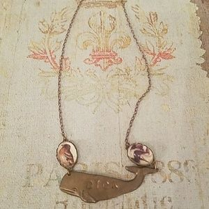 Moby Dick Vintage Necklace