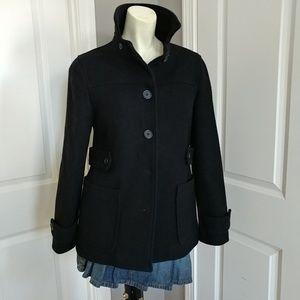 GAP Black Pea-Coat