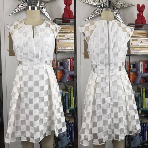 Milly Dresses & Skirts - Milky Silk Checkered Dress