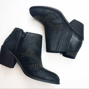 NEW! Lucky Brand Maiaa Black Ankle Boots.