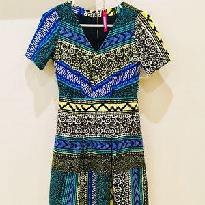 Beautiful pattern printed dress