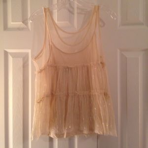 American eagle two layer top size M