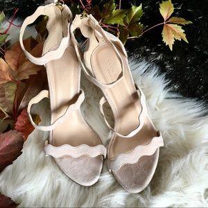 Club Monaco Shannon Leather Strappy Heels