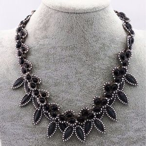 Beautiful Black Stone Necklace