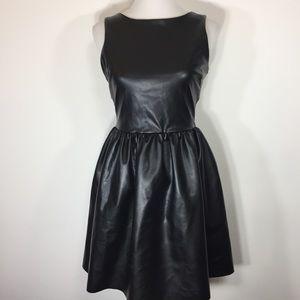 NWT Bar III Vegan Leather Dress
