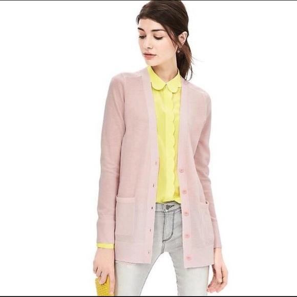 55% off Banana Republic Sweaters - NWT merino wool Boyfriend ...
