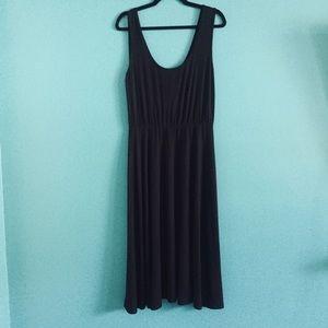 Rachel Pally Black Jersey Midi Sleeveless Dress