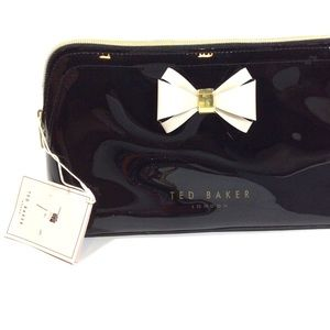 Ted Baker Patent Leather Cosmetic Case