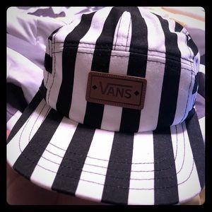 Striped vans 5 panel hat