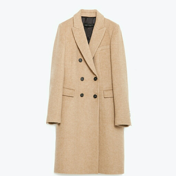 laest technology newest find lowest price Zara Camel double breast coat blazer size XS