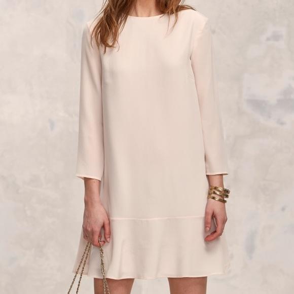 cc45f921eb2c2 Anthropologie Dresses   Skirts - NWOT Sezane Silk Ruffle Dress