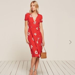 Reformation addy dress