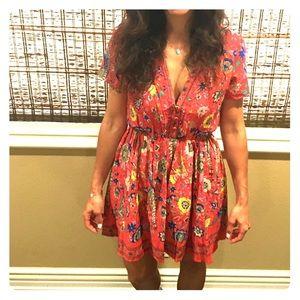 Authentic Spell Lovebird Mini Dress XS