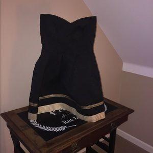 Scuba Bandage Fit n Flare Party Dress