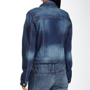 Kensie Jackets & Coats - Cropped Denim Jacket