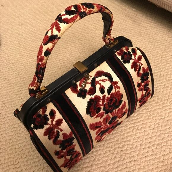 Vintage Bags - Vintage Carpet Bag