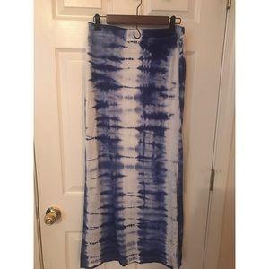 Romeo & Juliet Couture Tie dye maxi skirt
