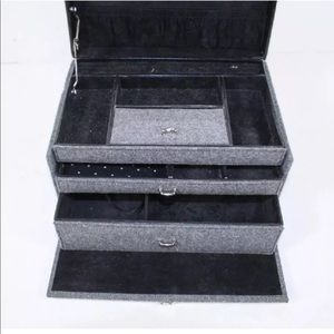Vintage Jewelry - Large Jewelry box + up to $80 gifts