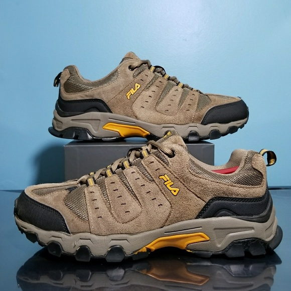 Suede FILA Hiking Boots.