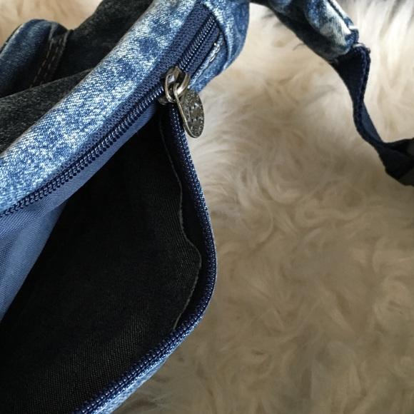 Vintage Bags - vintage denim fanny pack
