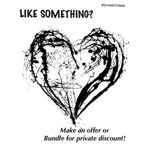 Bundle your likes for a private discount or offer!