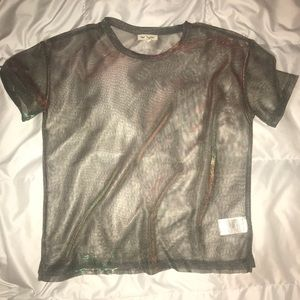 Iridescent top from UO