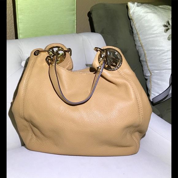MICHAEL Michael Kors Bags   Salemichael By Michael Kors Tan Leather ... 868b1b99fb