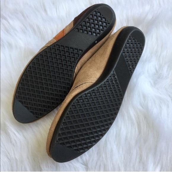 Vintage Shoes - Vintage Geometric Leather Lace-Ups