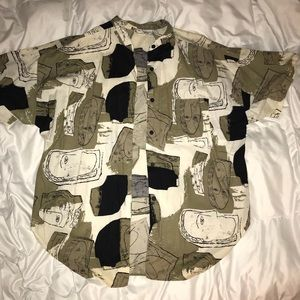 Other - Faces button up shirt