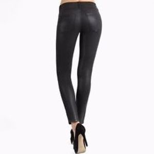 "MICHAEL KORS Wax Coated Skinny Jeans (Inseam 30"")"
