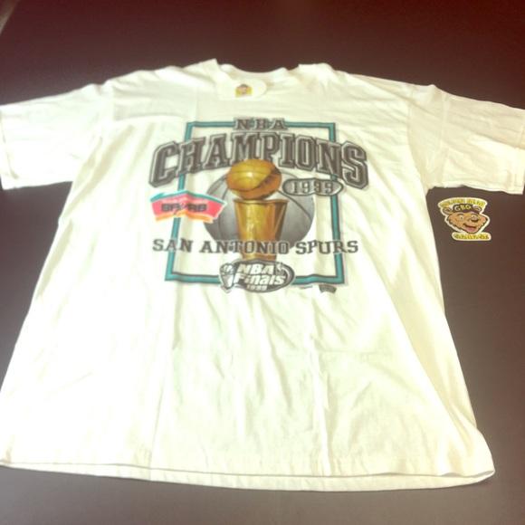 hot sale online 04223 f2fad Vintage San Antonio Spurs 1999 NBA Champions Tee
