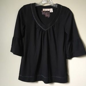 DKNY Blouse with flared sleeves