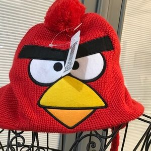 Red bird cap