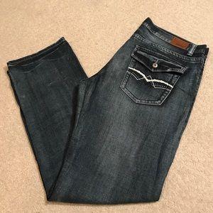 Men's Flypaper jeans.