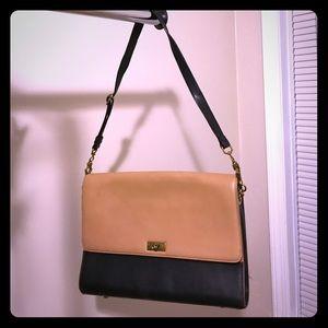 J.Crew Handbag Black and Tan
