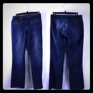 BCBGirls Low-Rise Bootcut Jeans
