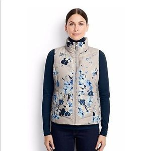 85f0d4409ad7 Lands' End Jackets & Coats | Lands End Floral Down Vest Nwt | Poshmark