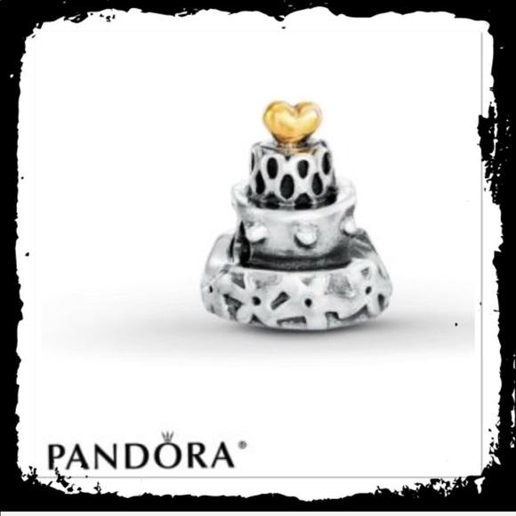 Strange Pandora Jewelry Discontinued Birthday Cake Charm Poshmark Birthday Cards Printable Opercafe Filternl
