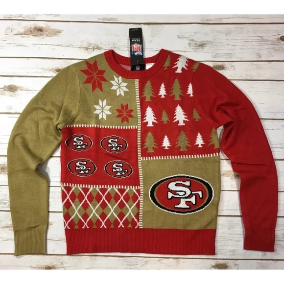 bce8a0dbf61 San Francisco 49ers Ugly Christmas Sweater