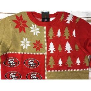 Nfl Team Apparel Shirts Tops San Francisco 49ers Ugly Christmas