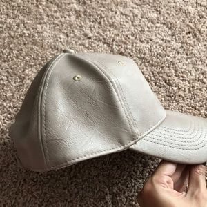 Nordstrom BP faux leather hat