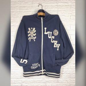 {lucky brand} Mens Vintage Inspired Sweatshirt