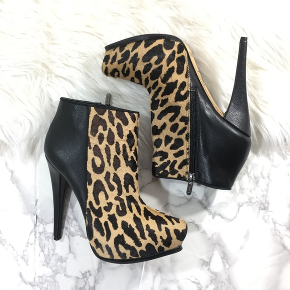 144ed4af124f Circus by Sam Edelman Shoes - Sam Edelman Jacey Leopard Calf Hair Ankle  Bootie 7