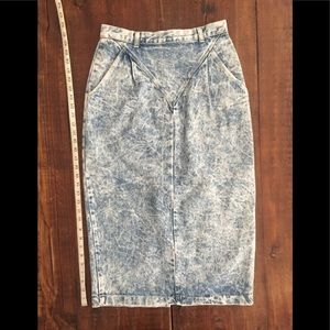 Dresses & Skirts - Acid Wash Skirt