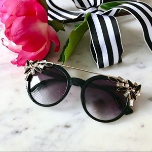 Accessories - 🎁2 for $24! Jeweled Cat Eye Sunglasses