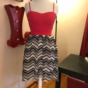 CHARLOTTE RUSSE sundress-check out the back!