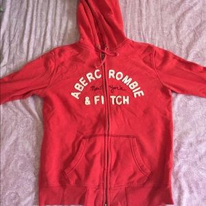 Elbow length Abercrombie & Fitch hoodie